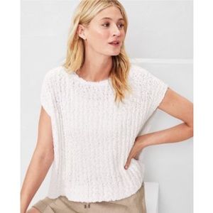 EILEEN FISHER split back sweater